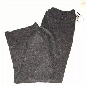 Dana Buchman gray, black and marbled dress pants.